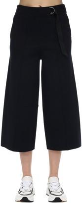 Falke Viscose Blend Milano Knit Wide Leg Pants