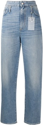 DEPARTMENT 5 High Rise Straight Leg Jeans