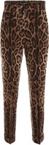 Dolce & Gabbana Leopard-printed Trousers