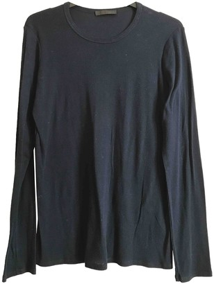 The Row Blue Cotton Top for Women