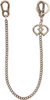 DSQUARED2 Silver Chain Pants Keychain