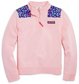 Vineyard Vines Girls' School Of Whales Shep Shirt - Sizes 2T-4T