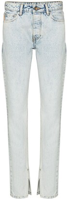 Ganni Mid-Rise Slim-Fit Jeans
