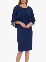 Gina Bacconi Lienna Dress with Cape