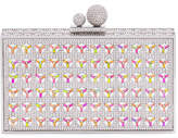 Sophia Webster Clara Optic Crystal Box Clutch Bag