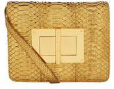 Tom Ford Large Metallic Python Natalia Shoulder Bag