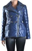 Burberry Women's Blue Polyester Down Jacket.