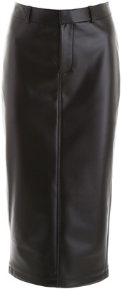 Alexander Wang Faux Leather Skirt