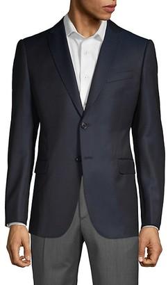 Armani Collezioni Pindot Wool Jacket
