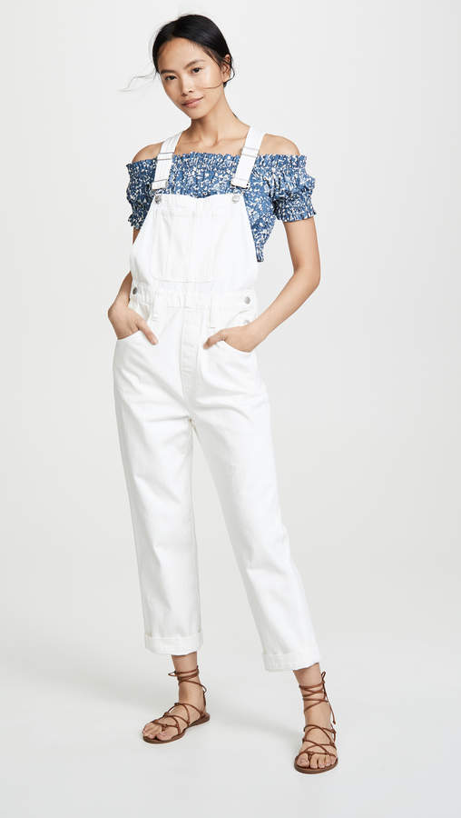 930de55826923 Fitted Overalls Women - ShopStyle