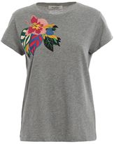 Valentino Flower Print T-shirt
