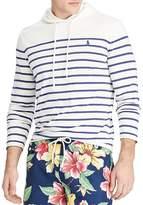 Polo Ralph Lauren Striped Weathered Custom Slim Fit Hooded Sweatshirt