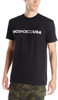 DC Men's Shoecousa Short Sleeve Screen T-Shirt