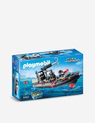 Playmobil City Action SWAT Boat