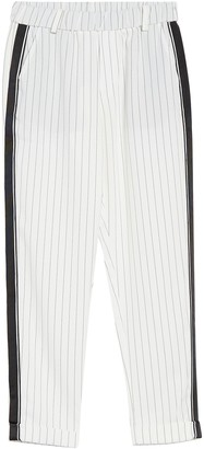 Love + Harmony Striped Pull-On Pants