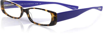Eyebobs Co-Conspirator Rectangular Two-Tone Readers, Tokyo Tortoise/Violet