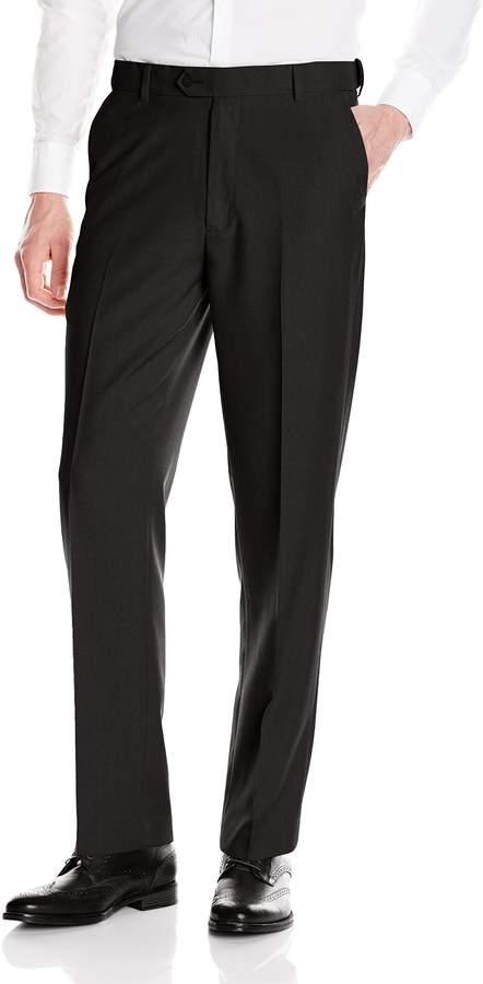 Geoffrey Beene Men's Flat Front Stria Dress Pant
