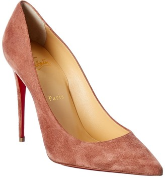 Christian Louboutin So Kate 100 Suede Pump