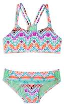Gossip Girl Girls' Desert Mirage 2-Piece Swimsuit - Big Kid