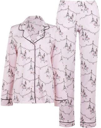BedHead Paris Christmas Pyjama Set