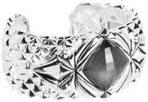 Stephen Webster Superstud Baroque Spike Crystal Haze Bracelet (Silver) - Jewelry