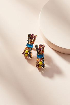Elizabeth Cole Adalane Drop Earrings By in Gold Size ALL