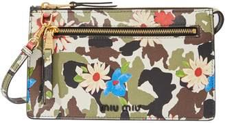 Miu Miu Small printed shoulder bag