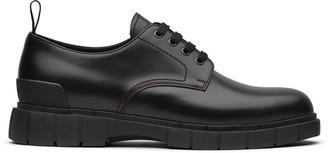 Car Shoe Block lace-up derby shoes