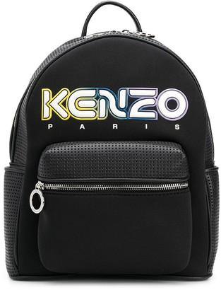 Kenzo Kombo logo backpack