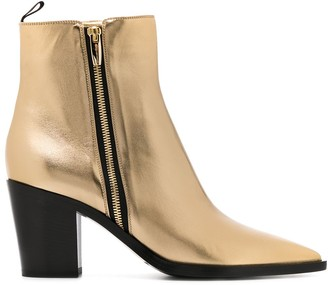 Gianvito Rossi Western Boots