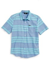 Volcom Boy's Meyer Stripe Woven Shirt