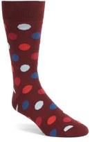 Bugatchi 'Large Dot' Socks