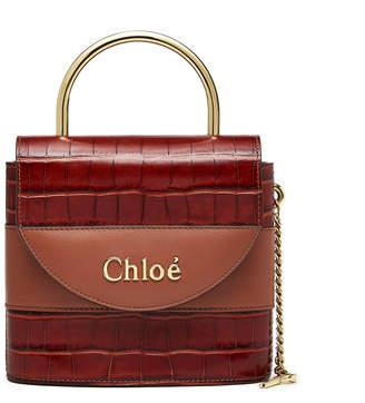 Chloé Chestnut Aby Lock Bag