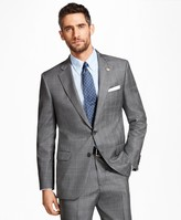 Brooks Brothers Madison Fit Saxxon Wool Plaid with Deco 1818 Suit