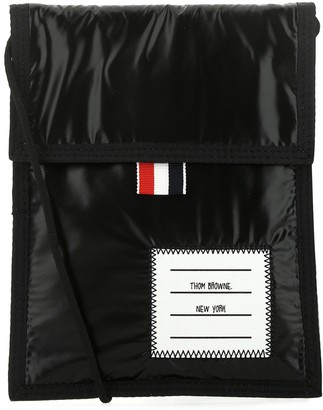 Thom Browne Logo Patch Messenger Bag