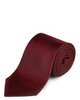 Jaeger Silk Texture Rope Weave Tie