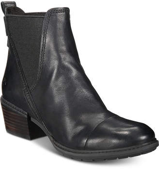 Timberland Women Sutherlin Bay Slouch Chelsea Leather Boots Women Shoes