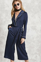 Forever 21 FOREVER 21+ Contemporary Satin Jumpsuit