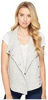 BB Dakota Women's Daya Knit Drapey Vest