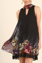 Umgee USA Floral Layered Dress