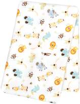 Trend Lab Jungle Friends Deluxe Flannel Swaddle Blanket