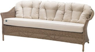 Kettler RHS Harlow Carr 3 Seater Outdoor Sofa, Natural
