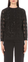 Brunello Cucinelli Sequin-embellished knitted jumper