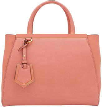 Fendi Pink Leather 2Jours Satchel