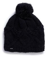 Burton 'Chloe' cable knit pompom beanie