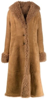 Pippa flared hem coat