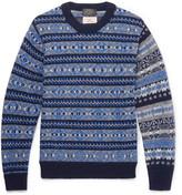 Beams Gim Fair Isle Wool Sweater