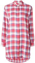 Golden Goose Deluxe Brand oversized plaid shirt
