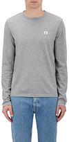 """Acne Studios Men's """"Tage Face"""" Cotton T-Shirt-GREY"""