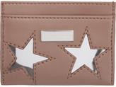 Stella McCartney Pink Star Card Holder